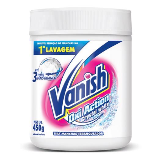Alvejante em pó Vanish White sem cloro Oxi Action crystal white 450g - Imagem em destaque