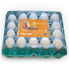 Ovos branco tipo extra PVC Mantiqueira 20 unidades
