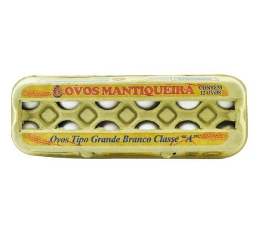 Ovos Mantiqueira branco tipo grande polpa 12 unidades - Imagem em destaque