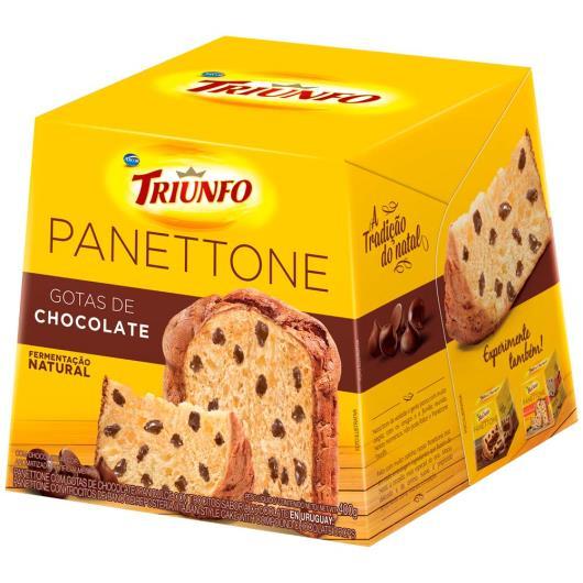 Panettone Gotas Chocolate Triunfo 400g - Imagem em destaque