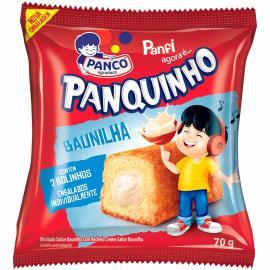 Mini bolo Panco Panquinho baunilha 70g
