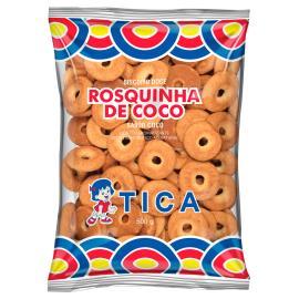 Rosquinha de coco Tica 500g