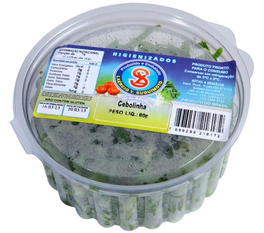 Cebolinha higienizada Suguimoto 80g - Imagem em destaque