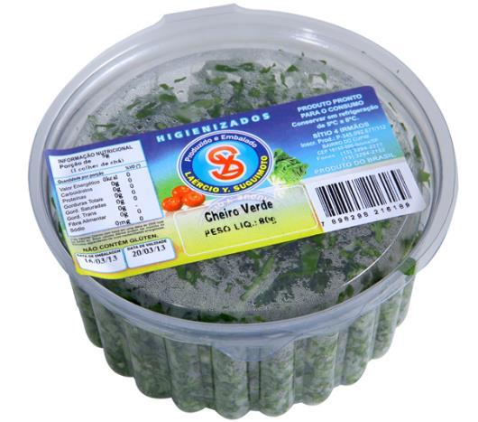 Cheiro verde higienizado Suguimoto 80g - Imagem em destaque