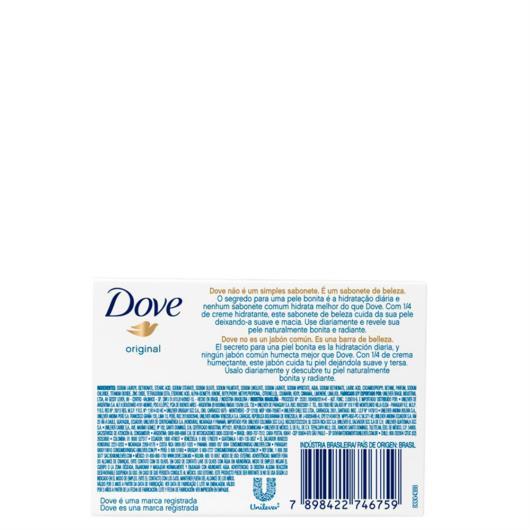 Sabonete Dove  Original 90g - Imagem em destaque