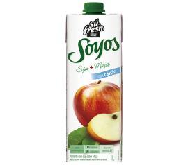 Bebida de Soja Soyos Maçã 1L