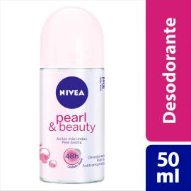 Desodorante Nivea roll on pearl & beauty 50ml