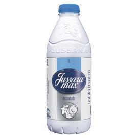 Leite desnatado Max Jussara garrafa 1l