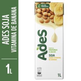 Bebida de soja Ades sabor vitamina de banana 1L