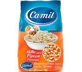 Milho para pipoca premium Camil 500g
