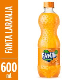 Refrigerante Fanta Laranja pet 600ml