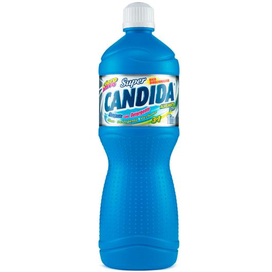 Alvejante Super Candida com detergente plus 3 em 1  1L - Imagem em destaque