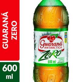 REFRIGERANTE ANTARCTICA GUARANÁ ZERO 600 ML GARRAFA