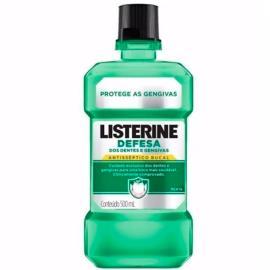 Anti-séptico Listerine defesa dos dentes e gengivas 500ml