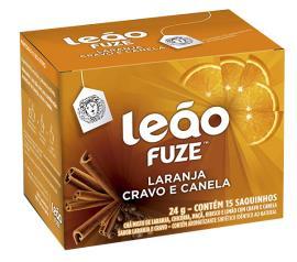Chá Leão misto laranja,cravo e canela 24g