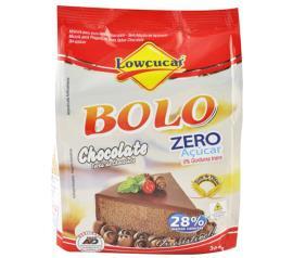 Mistura para bolo Lowçucar sabor chocolate light 300g