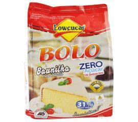 Mistura para bolo Lowçucar sabor baunilha light 300g