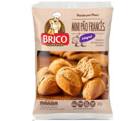 Pão Brico Bread francês mini integral 300g