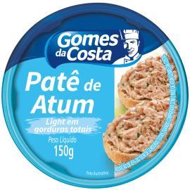 Patê de atum light Gomes da Costa 150g
