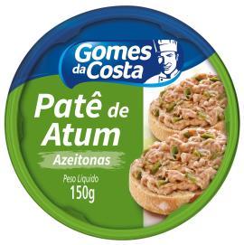Patê de atum e azeitonas Gomes da Costa 150g