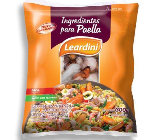 Ingrediente Leardini para paella congelada 300g - Imagem em destaque