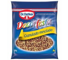 Confete granulado mesclado decorfesta Dr. Oetker 130g