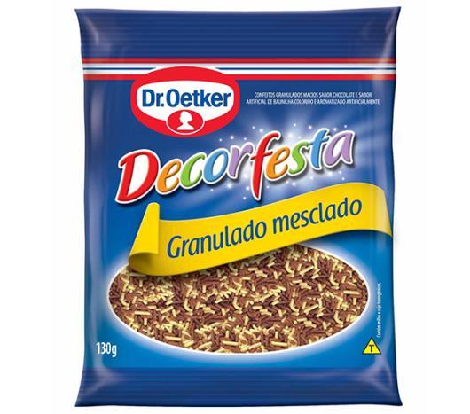 Confete granulado mesclado decorfesta Dr. Oetker 130g - Imagem em destaque