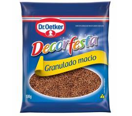 Confete granulado macio decorfesta Dr. Oetker 130g