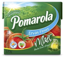 Molho de tomate Pomarola azeite e ervas finas 520g