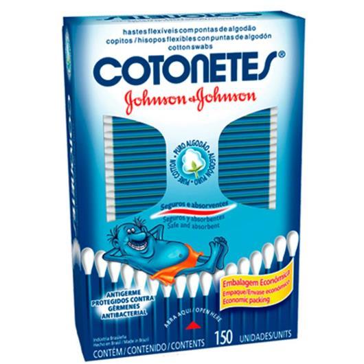 Hastes flexíveis Cotonete Johnson's 150 unidades - Imagem em destaque