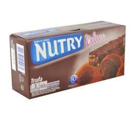 Barra de cereais Nutry sabor trufa delice 60g