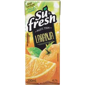 Néctar sabor laranja Sufresh 200ml