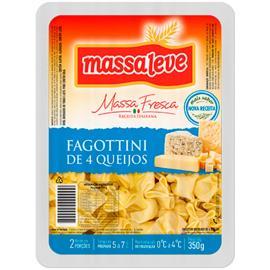 Fagottini  Massa Leve 4 queijos 350g