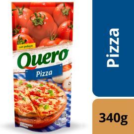 Molho de tomate sabor pizza Quero sachê 340g