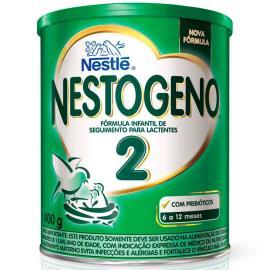 Fórmula Infantil Nestlé NESTOGENO 2 Lata 400g