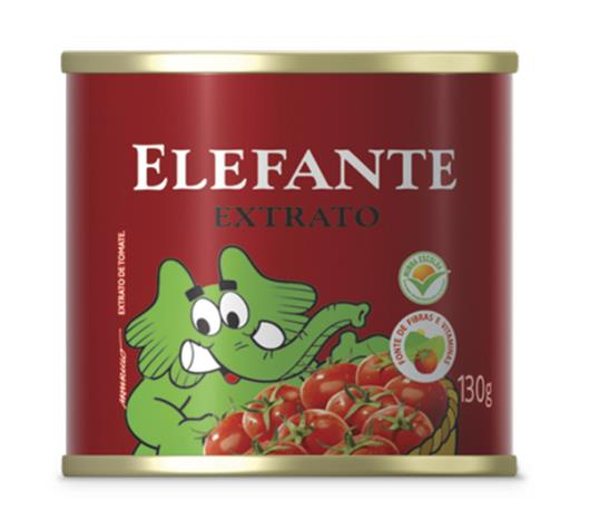 Extrato de tomate Elefante lata 130g - Imagem em destaque