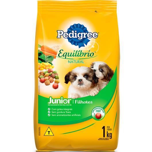 Alimento para cães Pedigree equilíbrio natural Filhotes 1kg - Imagem em destaque