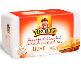 Queijo Tirolez prato light pequeno 450g