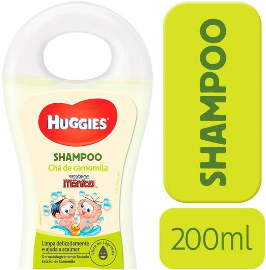 Shampoo Infantil HUGGIES Chá de Camomila - 200ml - Imagem em destaque