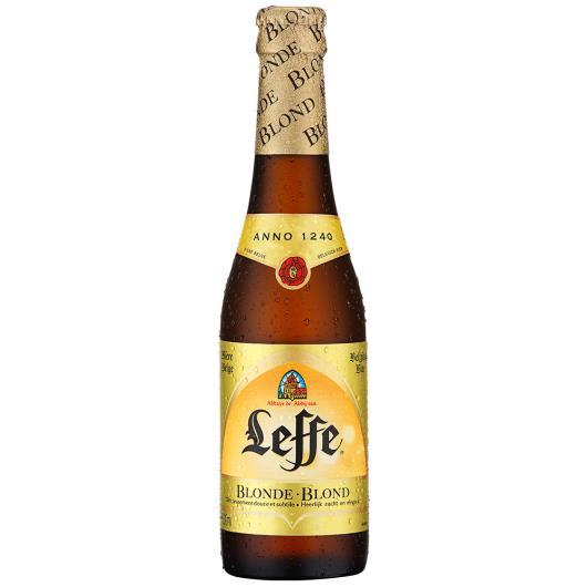 Cerveja Belga Leffe Blonde long neck 330ml - Imagem em destaque