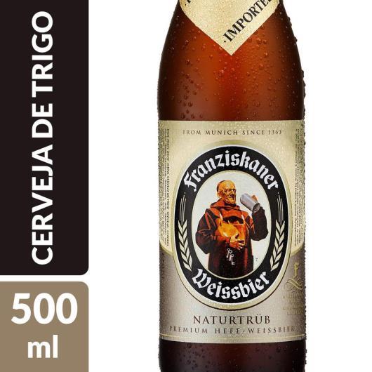 CERVEJA FRANZISKANER HEFE 500 ML - Imagem em destaque