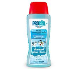 Shampoo pêlos claros Procão 500ml
