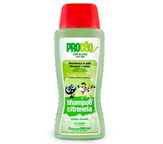 Shampoo citronela Procão 500ml - Imagem em destaque