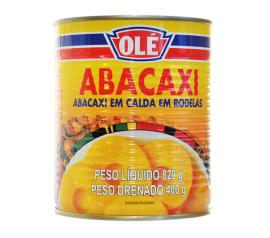 Abacaxi em calda Olé rodelas 400g