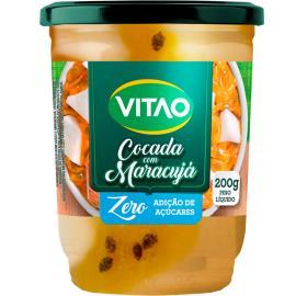 Cocada Vitao com maracujá Zero Açúcar 200g
