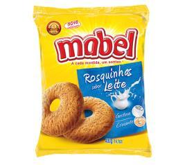 Biscoito rosca de leite Mabel 400g