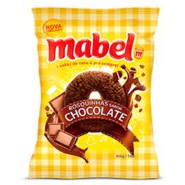 Biscoito rosca de chocolate Mabel 400g
