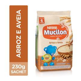 NESTLÉ Mucilon Arroz e Aveia Cereal Infantil Sachê 230g