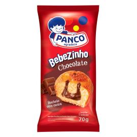 Bolo Panco bebezinho de chocolate  70g