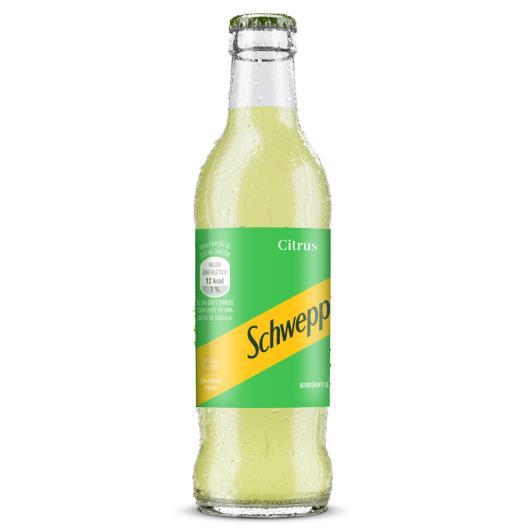 Refrigerante citrus Schweppes garrafa 250ml - Imagem em destaque